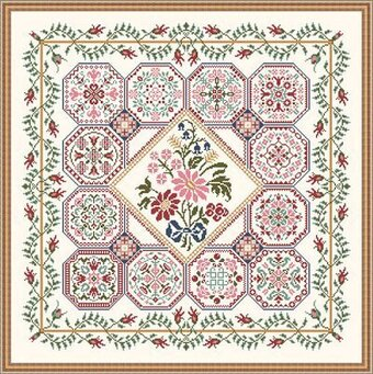 Flower Patch - Cross Stitch Pattern