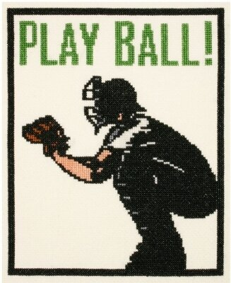 Play Ball! - Cross Stitch Kit