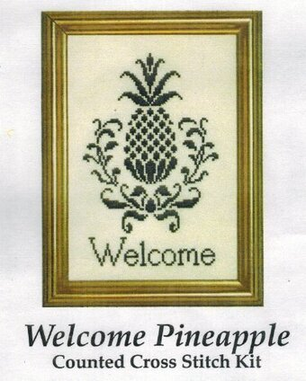 Welcome Pineapple - Cross Stitch Kit