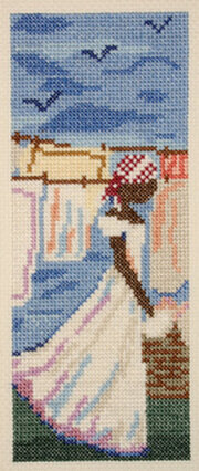 Blue Monday - Cross Stitch Kit