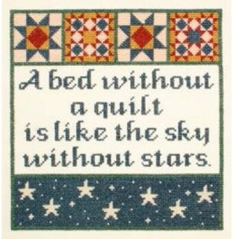 Without a Quilt - Cross Stitch Kit
