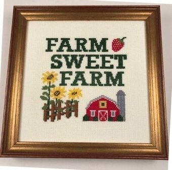Farm Sweet Farm - Cross Stitch Kit