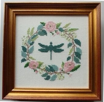 Botanical Wreath - Cross Stitch Kit