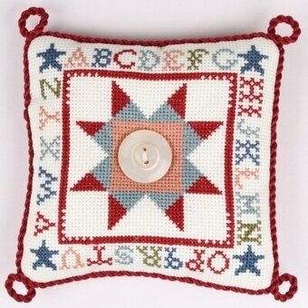 Ohio Star Pin Pillow - Cross Stitch Kit