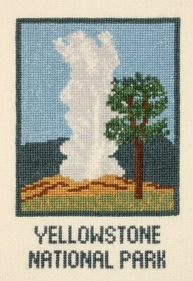 Old Faithful - Cross Stitch Kit