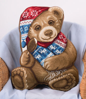 My Teddy Bear - Christmas Cross Stitch Kit