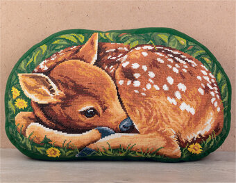 Fawn (Cushion Front) - Cross Stitch Kit