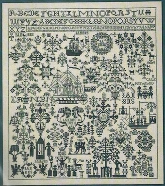 Sampler 1823 - Cross Stitch Kit
