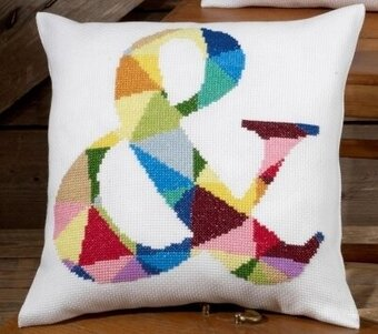 & Pillow - Cross Stitch Kit