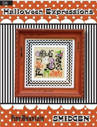 Halloween Expressions - Smidgen - Cross Stitch Pattern