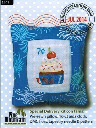 July Stamp - Special Delivery - Cross Stitch Kit
