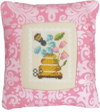 August  Stamp - Special Delivery - Cross Stitch Kit