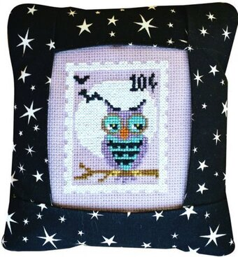 October Stamp - Special Delivery - Cross Stitch Kit
