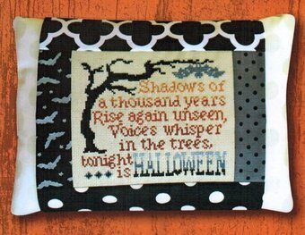 Shadows Of Halloween - Cross Stitch Kit