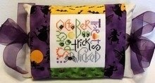 October Expressions Pillow - Cross Stitch Kit