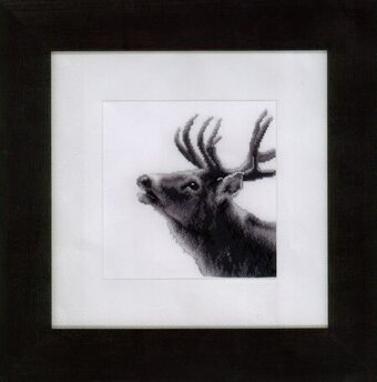 Roaring Deer - Cross Stitch Kit