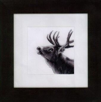Roaring Deer - Cross Stitch Kit