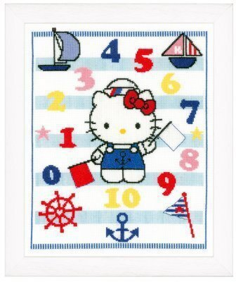 Sailor Hello Kitty - Cross Stitch Kit
