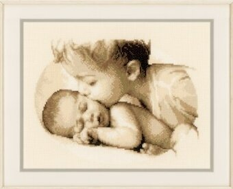 Brotherly Love - Cross Stitch Kit