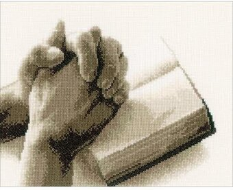 Praying Hands - Cross Stitch Kit