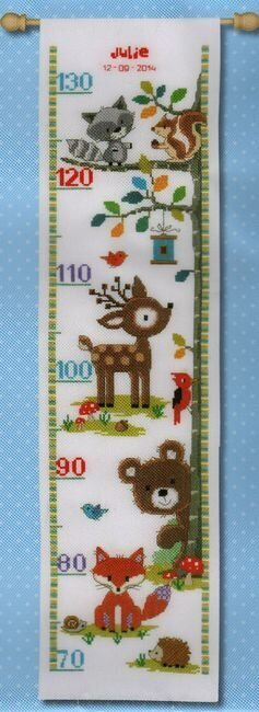 Forest Animals II - Cross Stitch Kit