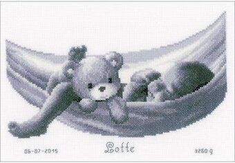 Baby In Hammock - Cross Stitch Kit