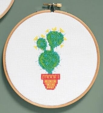 Cactus III - Cross Stitch Kit