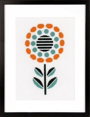 Abstract Flower - Cross Stitch Kit