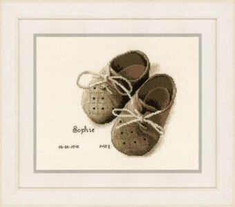 First Shoes - Cross Stitch Kit
