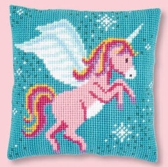 Unicorn - Cushion - Needlepoint Kit