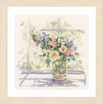 Bouquet of Flowers - Cross Stitch Kit