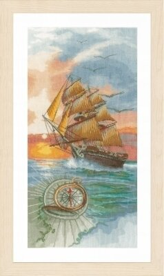 On a Discovery Travel - Cross Stitch Kit