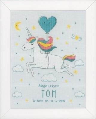 Magic Unicorn - Cross Stitch Kit