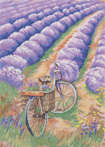The Beauty of Provence - Cross Stitch Kit
