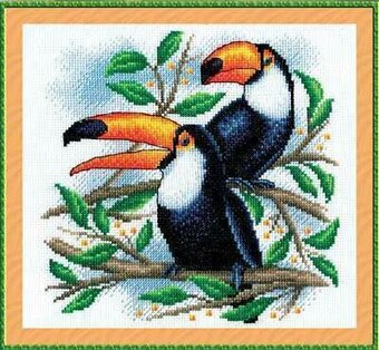 Toucans - Cross Stitch Kit