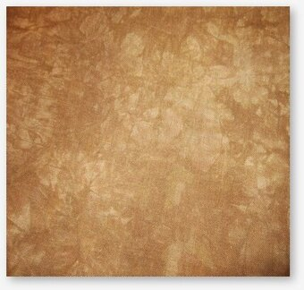 32 Count Gingerbread Lugana Fabric 35x52