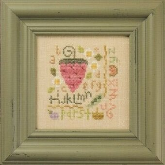 Strawberry Sampler (Flora McSample) - Cross Stitch Pattern