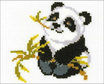 Panda - Cross Stitch Kit