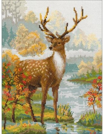 Deer - Cross Stitch Kit