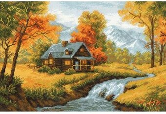 Autumn View - Cross Stitch Kit