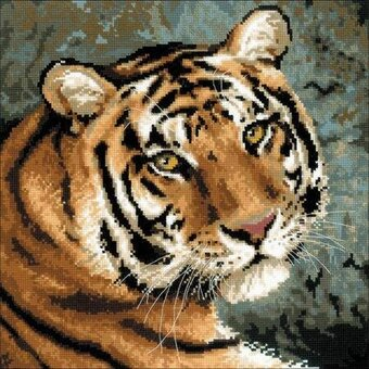 Siberian Tiger - Cross Stitch Kit