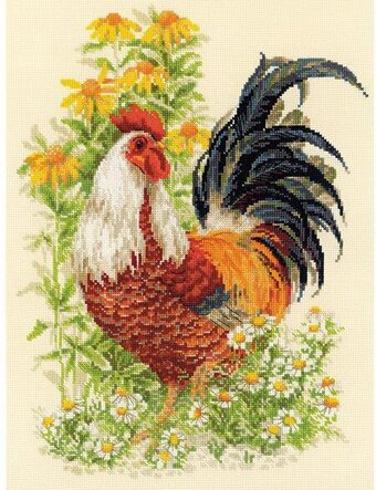 Rooster - Cross Stitch Kit