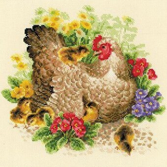 Hen - Cross Stitch Kit