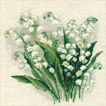 Lily Of The Valley - Cross Stitch Kit