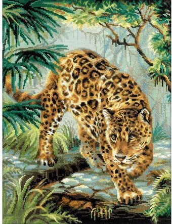 Owner Of The Jungle - Cross Stitch Kit