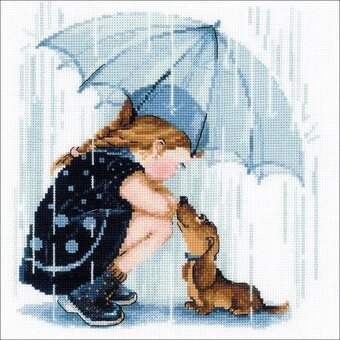 Under My Umbrella - Cross Stitch Kit