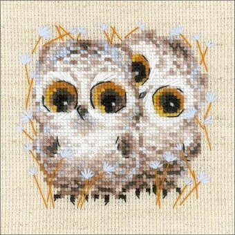 Little Owls - Cross Stitch Kit