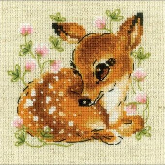 Little Deer - Cross Stitch Kit