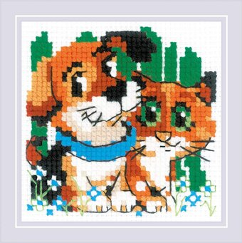 Stick with Me - Cross Stitch Kit