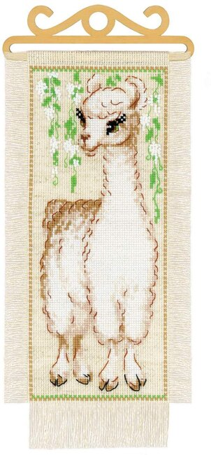 Alpaca - Cross Stitch Kit